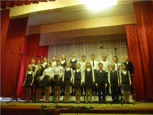 Районный фестиваль школьных хоров «Поют дети России».